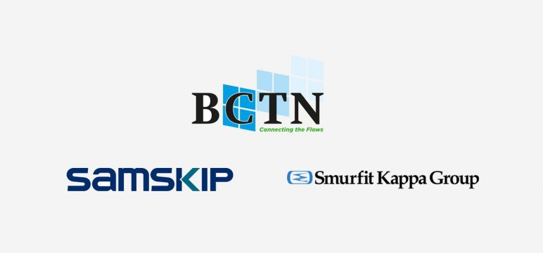Samskip, Smurfit Kappa and BCTN Roermond join forces