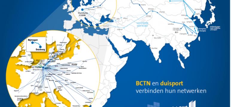 China en Europees achterland direct verbonden door BCTN