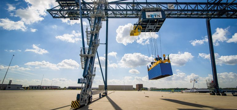 BCTN starts building its 8th terminal in Beringen, Belgium