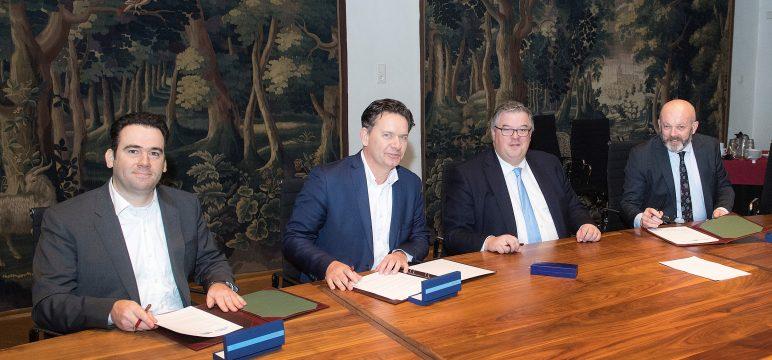 Zeehaven BCTN Nijmegen en toekomstige terrein ontwikkeling