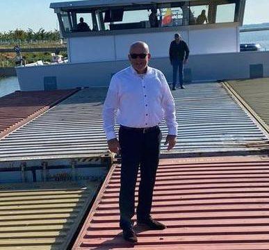 Nieuw elektrisch binnenschip Nedcargo en BCTN laadt eerste containers